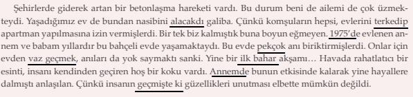 10. Sınıf Türk Dili ve Edebiyatı Ders Kitabı MEB Yayıncılık Sayfa 24 Ders Kitabı Cevapları