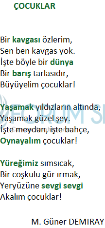 2. Sınıf Türkçe Ders Kitabı KOZA Yayıncılık Sayfa 120 Ders Kitabı Cevapları
