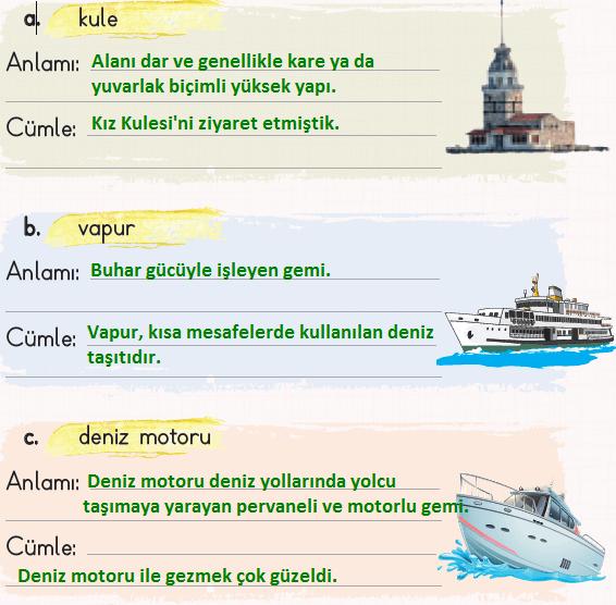 2. Sınıf Türkçe Ders Kitabı KOZA Yayıncılık Sayfa 146-147 Ders Kitabı Cevapları
