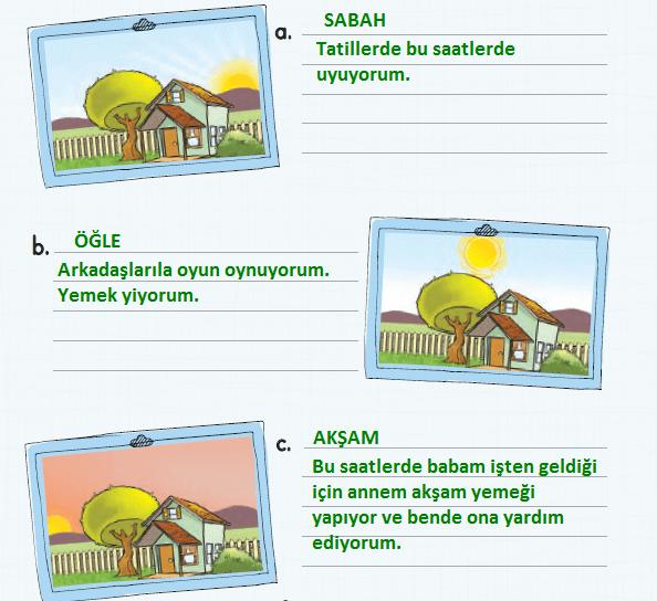 2. Sınıf Türkçe Ders Kitabı KOZA Yayıncılık Sayfa 180 Ders Kitabı Cevapları