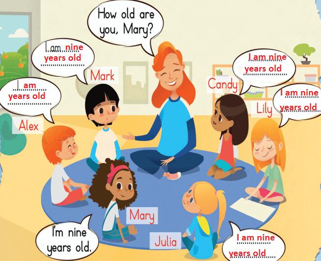 3. Sınıf İngilizce MEB Yayınları Sayfa 21 Ders Kitabı Cevapları
