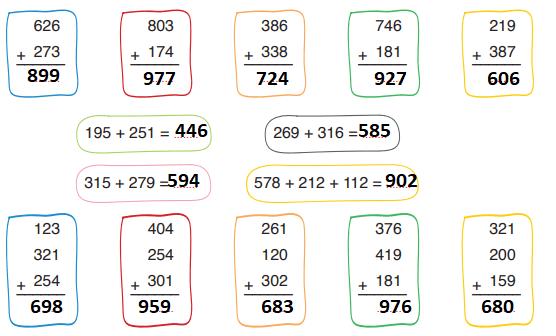 3. Sınıf Matematik Ders kitabı Ada Yayıncılık Sayfa 50 Ders Kitabı Cevapları