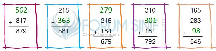 3. Sınıf Matematik Ders kitabı Ada Yayıncılık Sayfa 72 Ders Kitabı Cevapları
