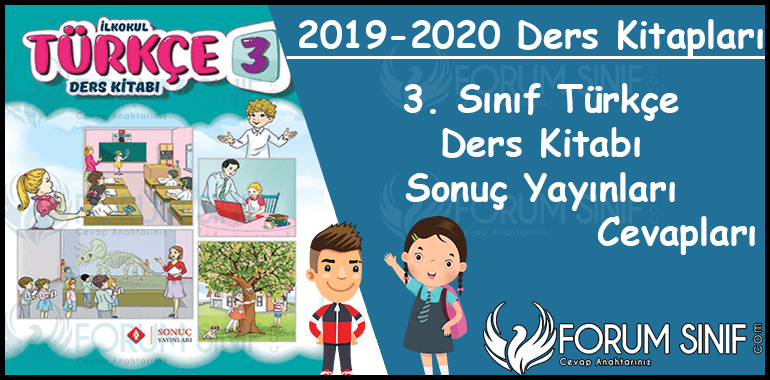 3. Sinif Turkce Ders Kitabi Sonuc Yayinlari Cevaplari