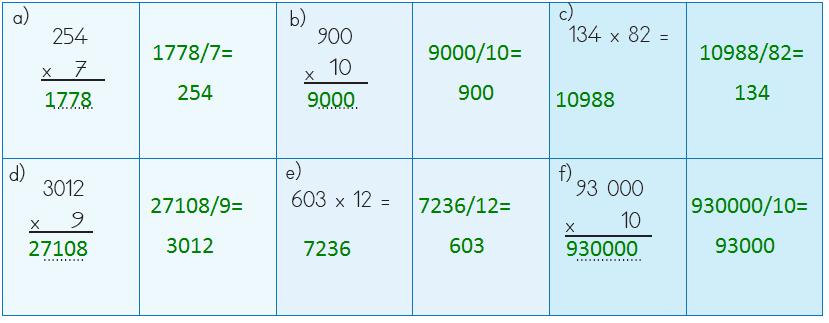 4. Sınıf Matematik Ders Kitabı MEB Yayınları Sayfa 124 Ders Kitabı Cevapları