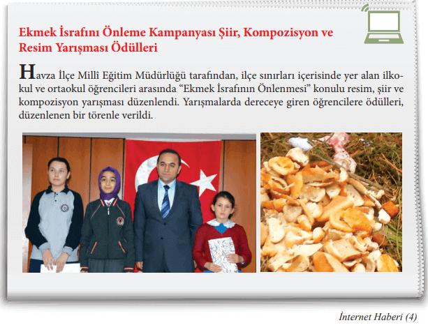 4. Sınıf Sosyal Bilgiler TUNA Yayınları Sayfa 143 Ders Kitabı Cevapları