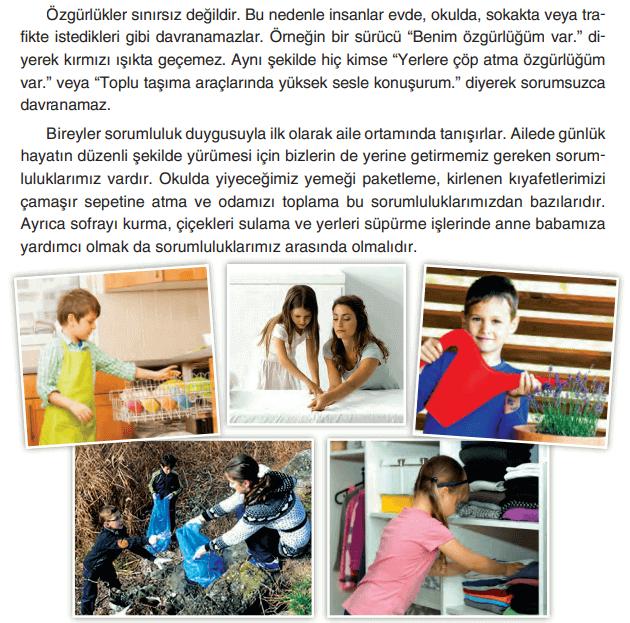 4. Sınıf Sosyal Bilgiler TUNA Yayınları Sayfa 157