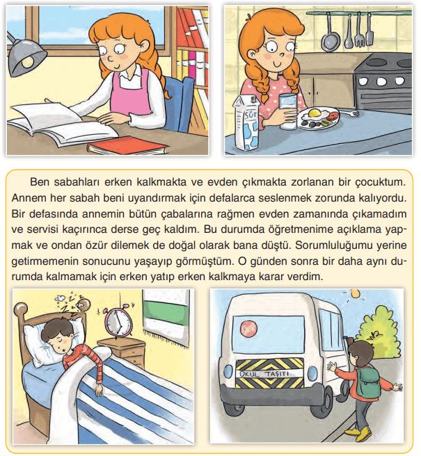 4. Sınıf Sosyal Bilgiler TUNA Yayınları Sayfa 158