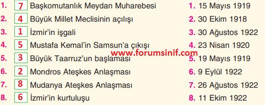 4. Sınıf Sosyal Bilgiler TUNA Yayınları Sayfa 60 Ders Kitabı Cevapları