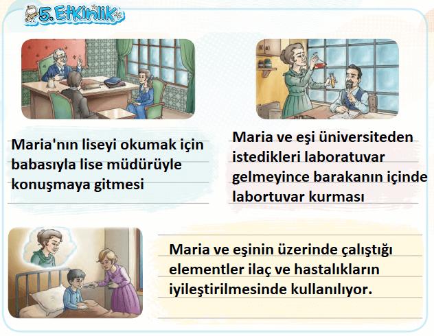 4. Sınıf Türkçe Ders Kitabı KOZA Yayıncılık Sayfa 238 Ders Kitabı Cevapları