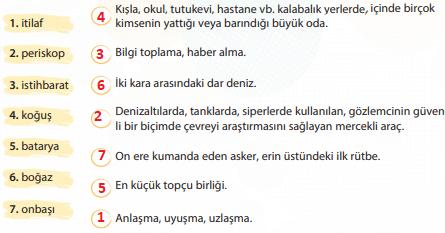 4. Sınıf Türkçe Ders Kitabı KOZA Yayıncılık Sayfa 49 Ders Kitabı Cevapları
