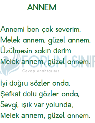 4. Sınıf Türkçe Ders Kitabı KOZA Yayıncılık Sayfa 95 Ders Kitabı Cevapları