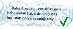 4. Sınıf Türkçe Ders Kitabı KOZA Yayıncılık Sayfa 98 Ders Kitabı Cevapları