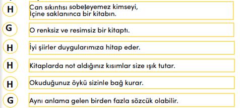 4. Sınıf Türkçe Ders Kitabı MEB Yayınları Sayfa 41 Ders Kitabı Cevapları