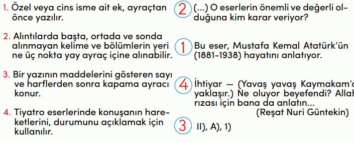4.-Sınıf-Türkçe-MEB-Yayınları-Sayfa-236-Ders-Kitabı-Cevapları