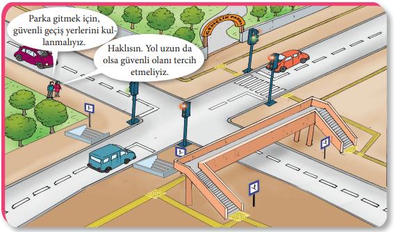 4. Sınıf Trafik Güvenliği MEB Yayınları 23. Sayfa Ders Kitabı Cevapları