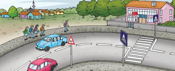 4. Sınıf Trafik Güvenliği MEB Yayınları Sayfa 21 Ders Kitabı Cevapları