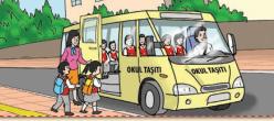 4. Sınıf Trafik Güvenliği Semih Ofset SEK Yayınları Sayfa 44 Ders Kitabı Cevapları - Etkinlik 1