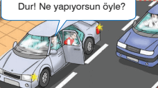 4. Sınıf Trafik Güvenliği Semih Ofset SEK Yayınları Sayfa 44 Ders Kitabı Cevapları - Etkinlik 3