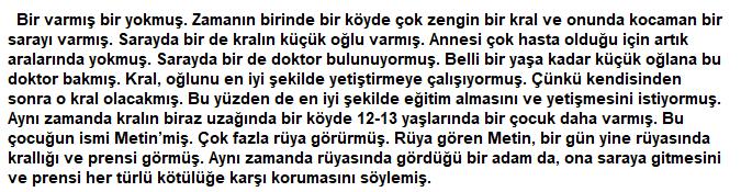 5. Sınıf Türkçe Ders Kitabı Anıttepe Yayıncılık Sayfa 186 Ders Kitabı Cevapları