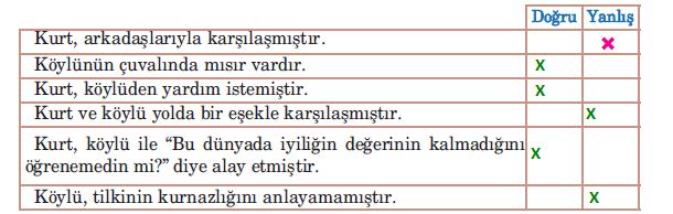 5. Sınıf Türkçe Ders Kitabı Anıttepe Yayıncılık Sayfa 196 Ders Kitabı Cevapları
