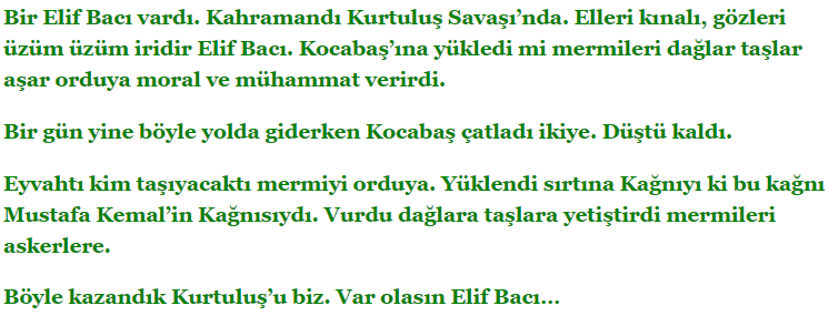 5. Sınıf Türkçe Ders Kitabı Anıttepe Yayıncılık Sayfa 45 Ders Kitabı Cevapları