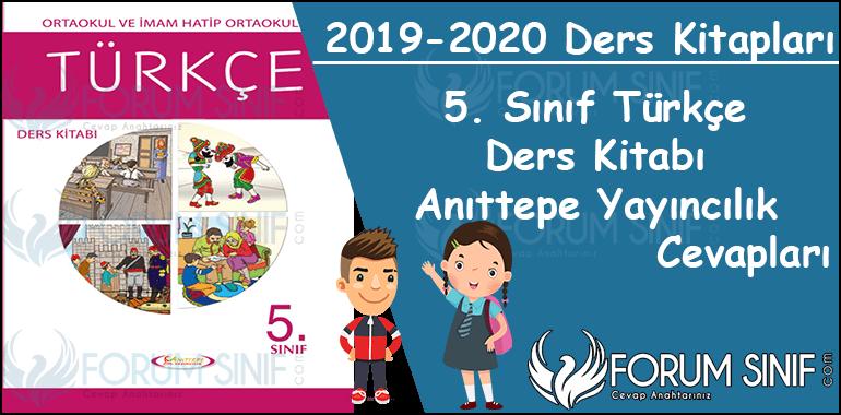 5. Sinif Turkce Ders Kitabi Anittepe Yayincilik Cevaplari