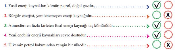 6. Sınıf Sosyal Bilgiler MEB Yayınları Sayfa 174 Ders Kitabı Cevapları