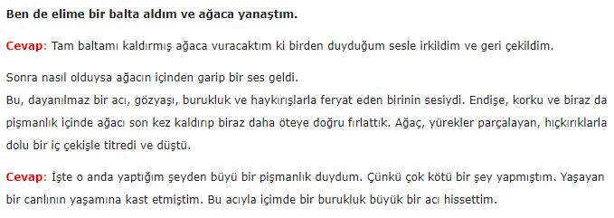 6. Sınıf Türkçe Ders Kitabı Ekoyay Yayınları Sayfa 16 Ders Kitabı Cevapları