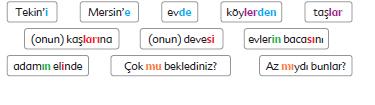 6. Sınıf Türkçe Ders Kitabı Ekoyay Yayınları Sayfa 46-47 Ders Kitabı Cevapları