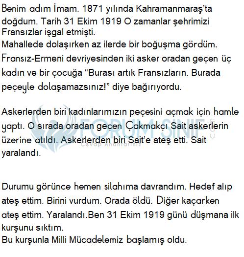 6. Sınıf Türkçe Ders Kitabı Ekoyay Yayınları Sayfa 66 Ders Kitabı Cevapları