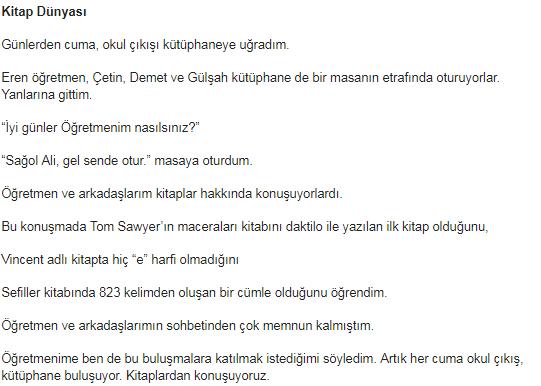 6. Sınıf Türkçe Ders Kitabı MEB Yayıncılık Sayfa 24 Ders Kitabı Cevapları