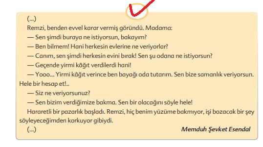 6. Sınıf Türkçe Ders Kitabı Ekoyay Yayınları Sayfa 196 Ders Kitabı Cevapları (1)