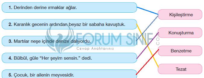 7. Sınıf Türkçe Ders Kitabı Özgün Yayınları Sayfa 101 Ders Kitabı Cevapları Ç şıkkı