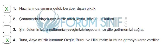 7. Sınıf Türkçe Ders Kitabı Özgün Yayınları Sayfa 101 Ders Kitabı Cevapları