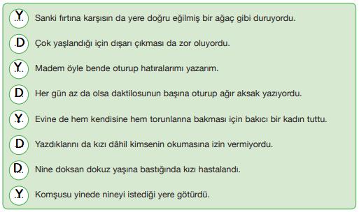 7. Sınıf Türkçe Ders Kitabı Özgün Yayınları Sayfa 26 Ders Kitabı Cevapları
