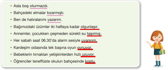 7. Sınıf Türkçe Ders Kitabı Özgün Yayınları Sayfa 27 Ders Kitabı Cevapları
