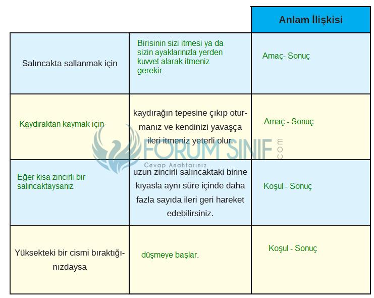 8. Sınıf Türkçe Ders Kitabı MEB Yayınları Sayfa 100 Ders Kitabı Cevapları