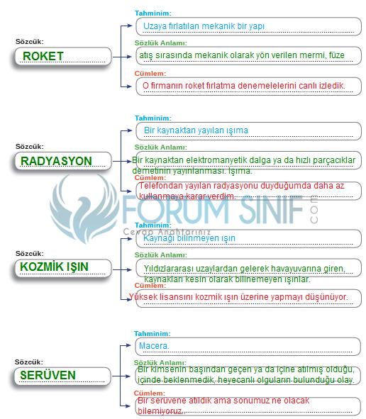 8. Sınıf Türkçe Ders Kitabı MEB Yayınları Sayfa 105 Ders Kitabı Cevapları