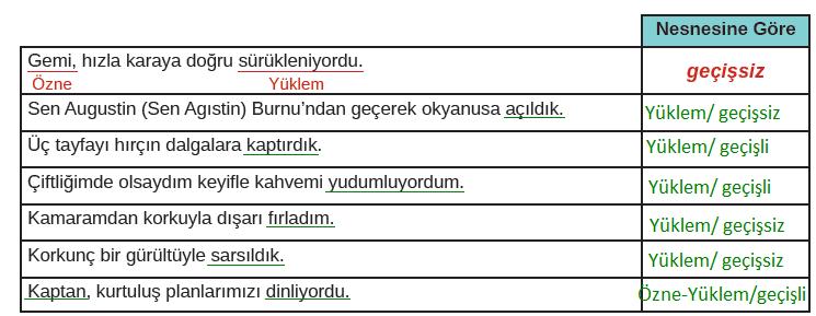 8. Sınıf Türkçe Ders Kitabı MEB Yayınları Sayfa 171 Ders Kitabı Cevapları