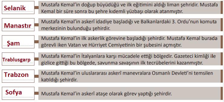 8. Sınıf T.C. İnkılap Tarihi ve Atatürkçülük MEB Yayınları Sayfa 34 Ders Kitabı Cevapları