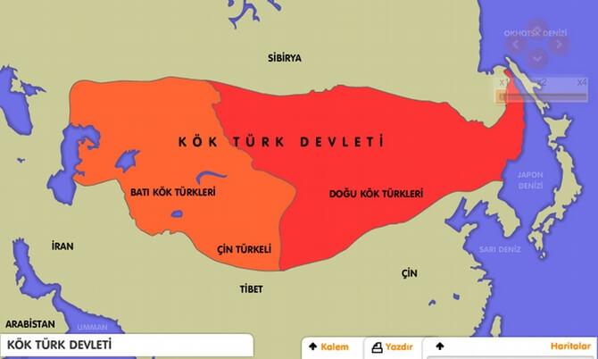 Köktürkler Devleti