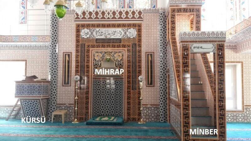 cami-mihrab-minber-