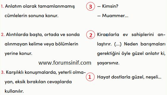 4. Sınıf Türkçe MEB Yayınları Sayfa 78 Ders Kitabı Cevapları