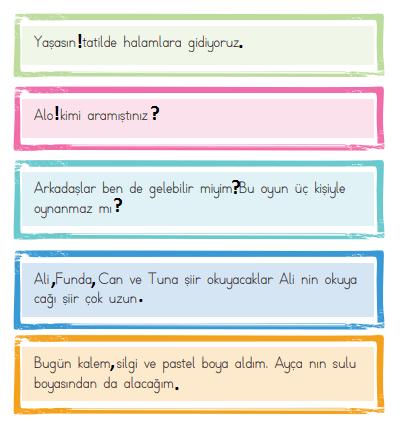 2. Sınıf Türkçe Ders Kitabı ADA Yayınları Sayfa 116 Ders Kitabı Cevapları