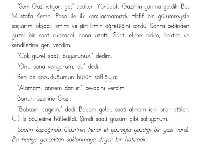2. Sınıf Türkçe Ders Kitabı ADA Yayınları Sayfa 84 Ders Kitabı Cevapları