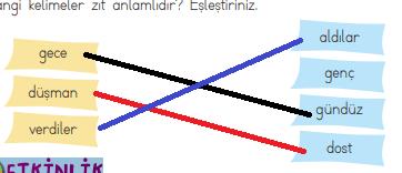 2. Sınıf Türkçe Ders Kitabı ADA Yayınları Sayfa 95 Ders Kitabı Cevapları