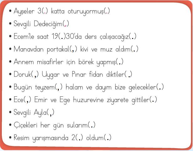 2. Sınıf Türkçe MEB Yayınları Sayfa 24 Çalışma Kitabı Cevapları (1)