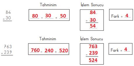 3. Sınıf Matematik MEB Yayınları Sayfa 81 Ders Kitabı Cevapları