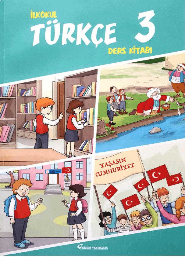 3. Sınıf Türkçe Ders Kitabı Cevapları Gizem Yayınları